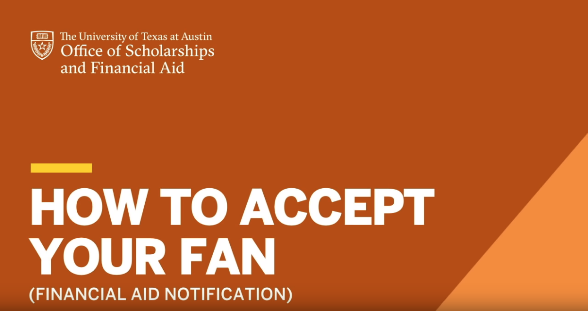How to Accept Your FAN video thumbnail, click to play