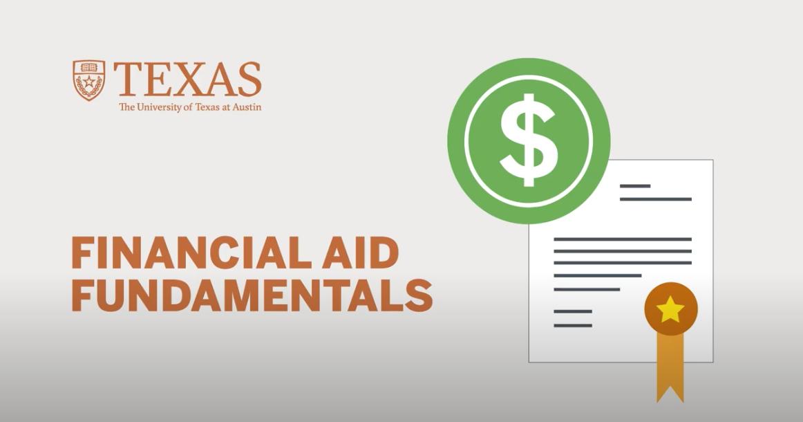 Financial Aid Fundamentals video thumbnail, click to play