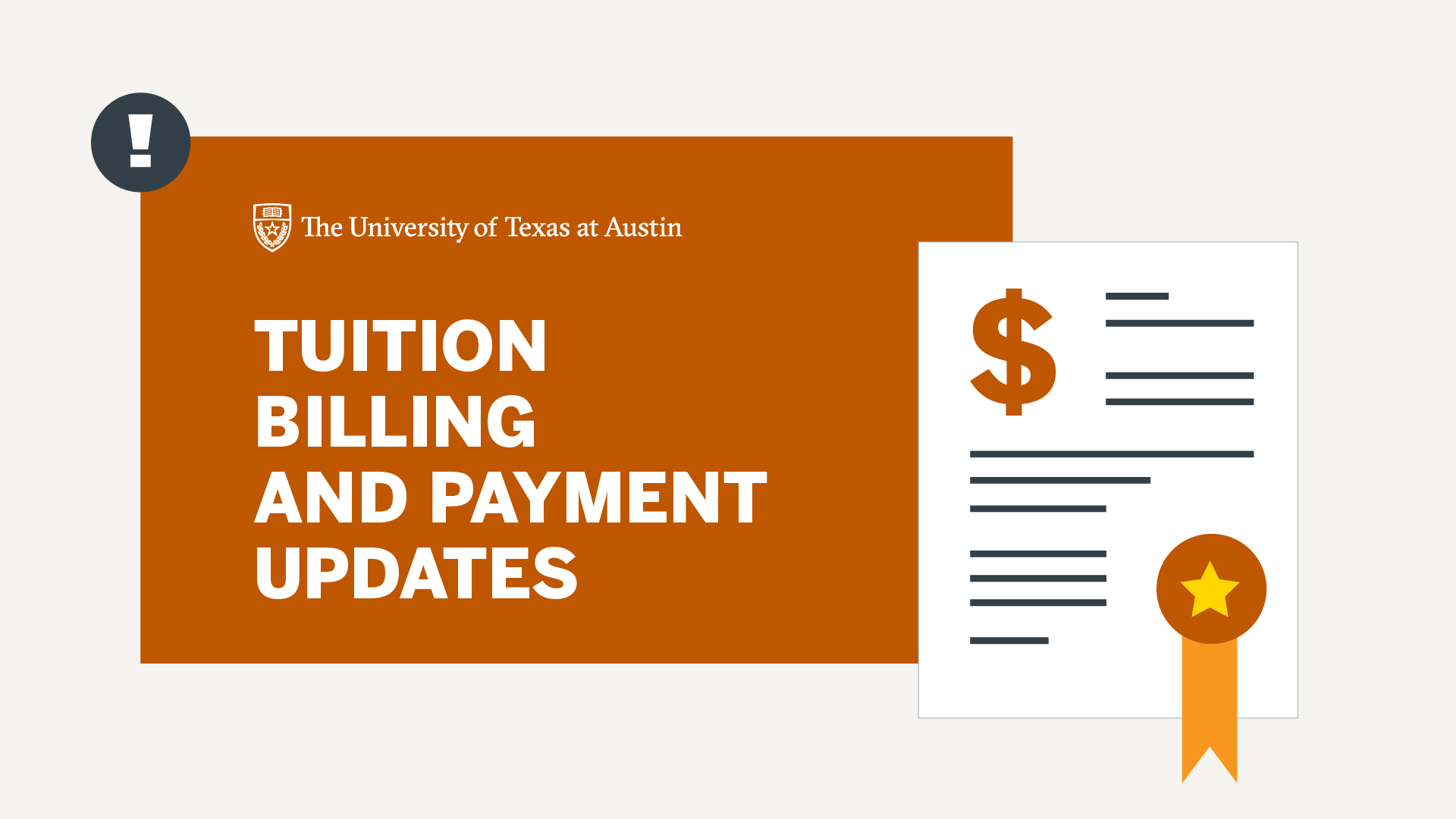 Tuition Billing and Payment Updates video thumbnail, click to play